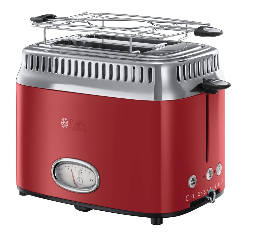 zdjęcie TOSTER RETRO RIBBON RED 21680-56 Russell Hobbs