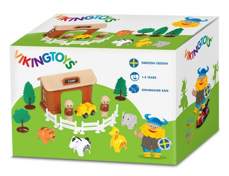 zdjęcie VIKING CITY FARMA SAFARI Z FIGURKAMI viking toys